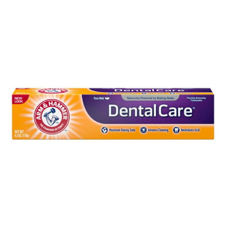 Arm & Hammer Dental Care Fluoride Anticavity Toothpaste, Fresh Mint 6.30 oz