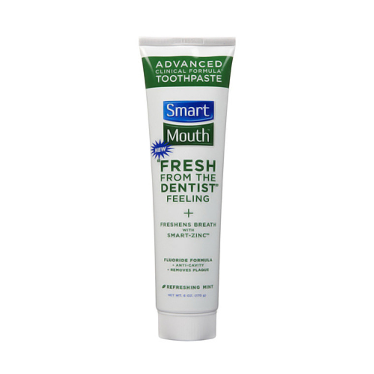 Smartmouth Whitening Toothpaste, Great Mint Flavor - 6 Oz