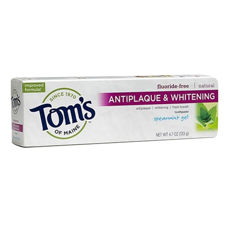 Toms Of Maine Natural Toothpaste, Spearmint Gel - 4.7 Oz