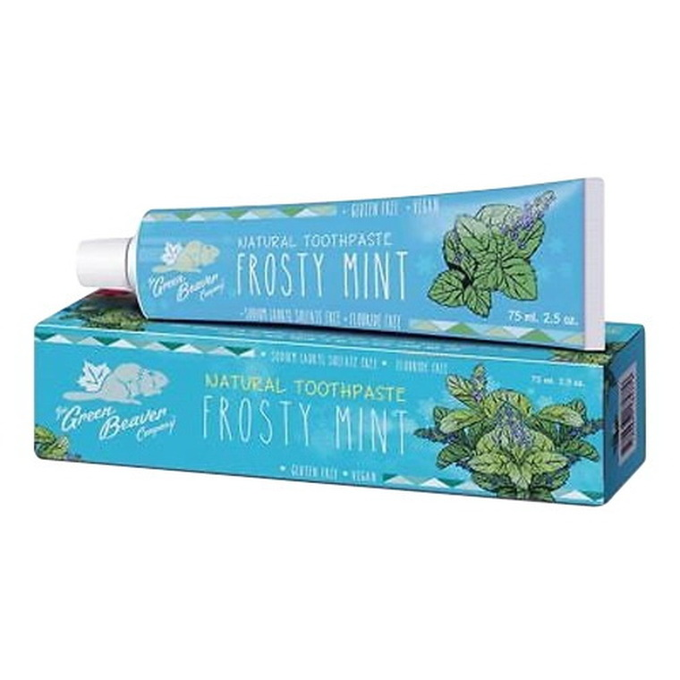 Green Beaver Toothpaste Frosty Mint, 2.5 Oz