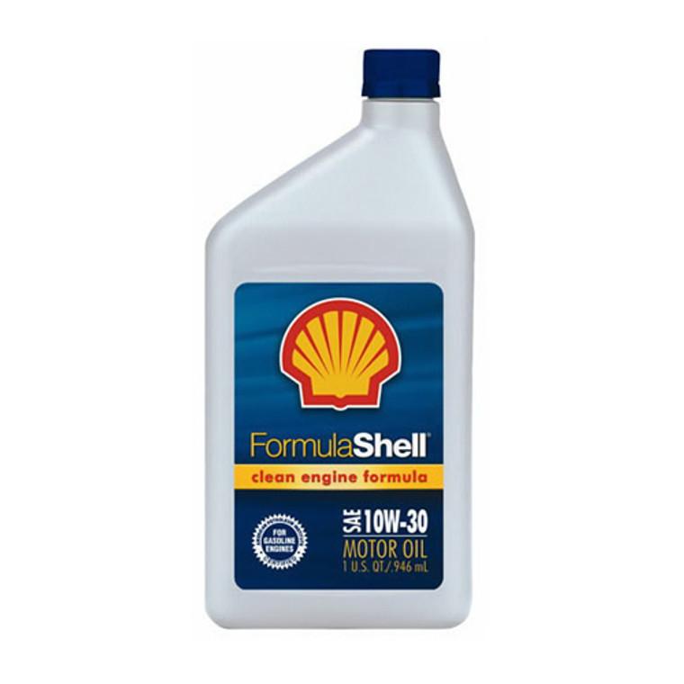 Formula Shell Motor Oil Quart, 10W30 - 32 Oz