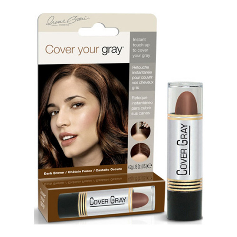Cover Your Gray for Women Touch Up Stick, Dark Brown, 0.15 oz