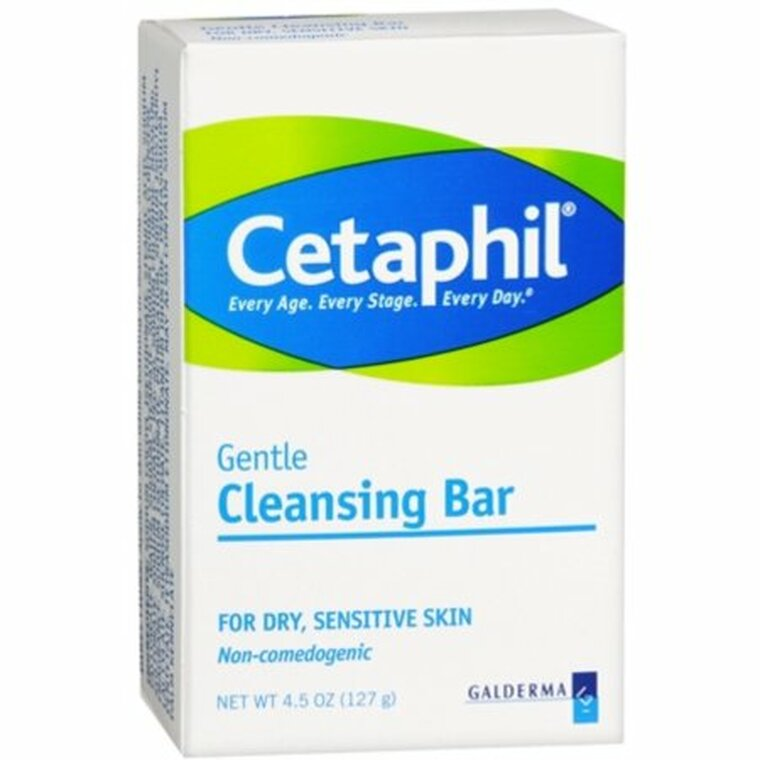 Cetaphil Gentle Cleansing Bar For Dry And Sensitive Skin - 4.5 Oz