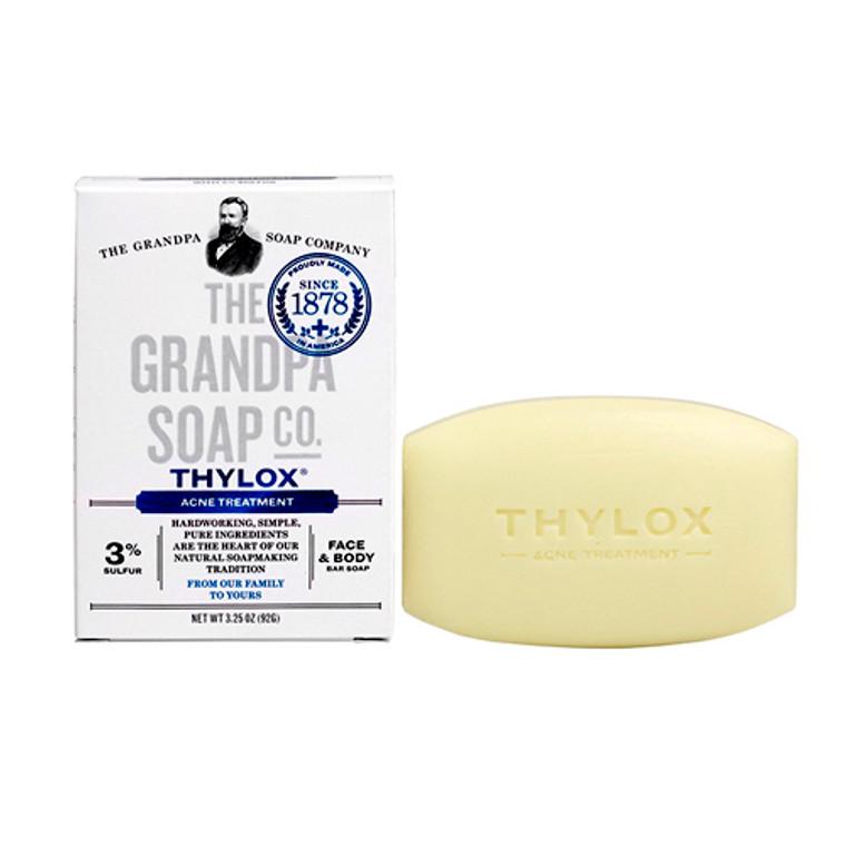 Grandpas Thylox Acne Treatment Bar Soap With Sulfur - 3.25 Oz