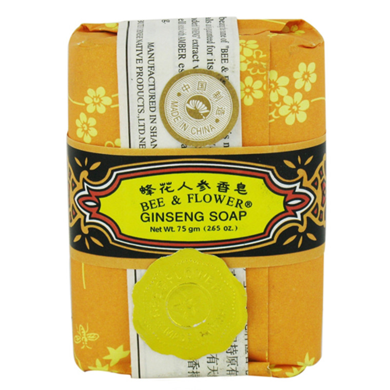Bee And Flower Ginseng Soap - 2.65 Oz