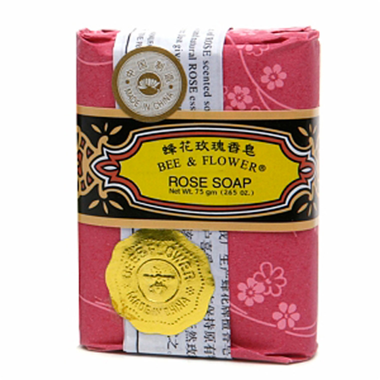 Bee And Flower Rose Bar Soap - 2.65 Oz