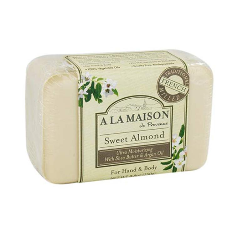 A La Maison De Proven Bar Soap, Sweet Almond - 8.8 Oz