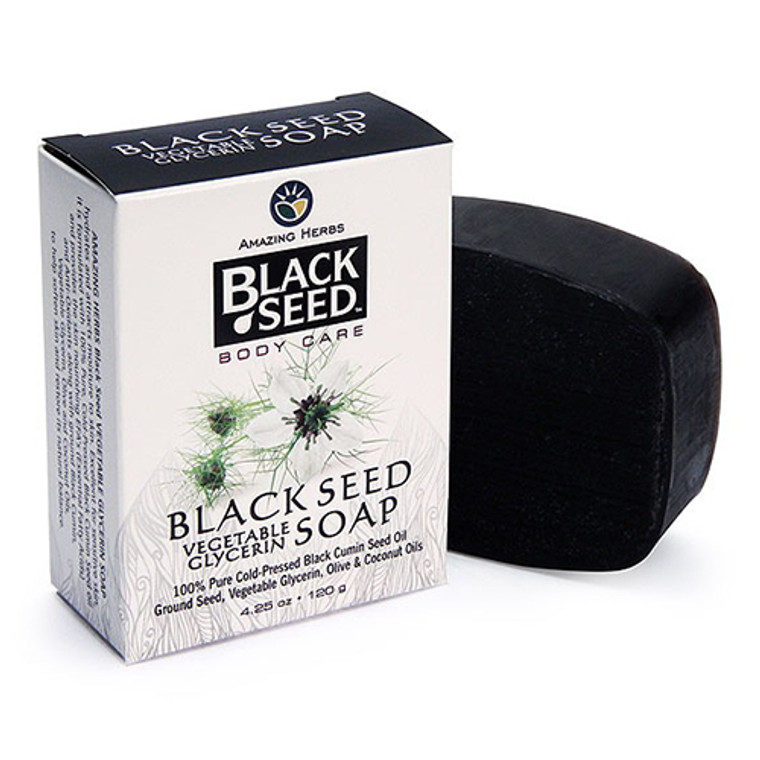 Amazing Herbs Black Seed Body Care Soap, Vegetable Glycerin, 4.25 oz