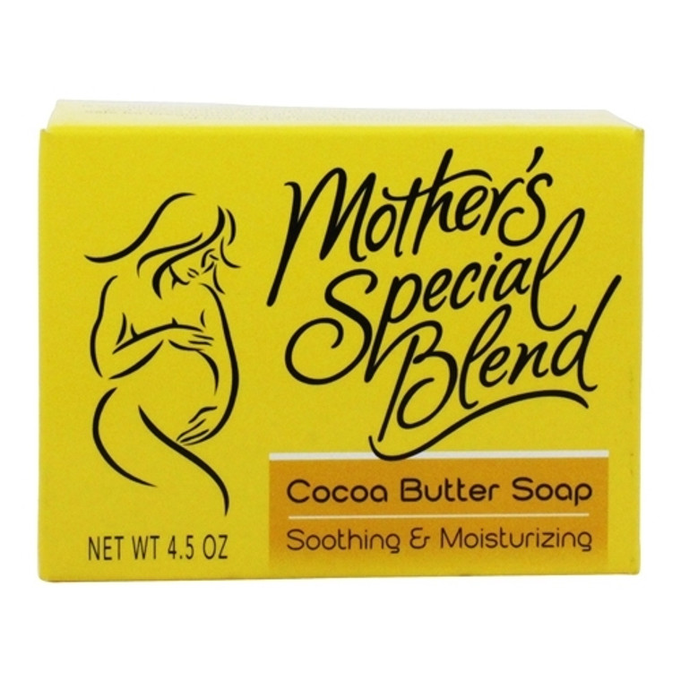 Mothers Special Natural Blend Cocoa Butter Soap, 4.5 oz
