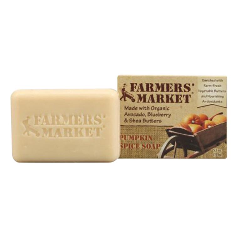 Farmers Market Natural Bar Soap Pumpkin Spice, 5.5 Oz