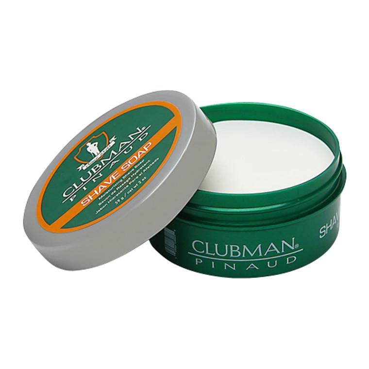 Clubman Pinaud Moisturizing Shave Soap, 2 oz