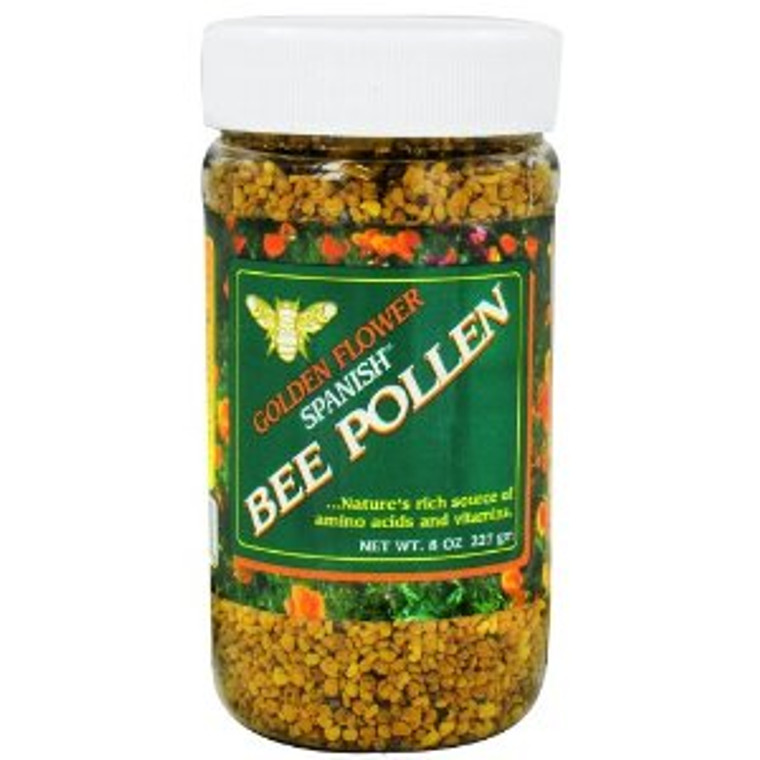 Golden Flower Spanish Bee Pollen - 8 Oz