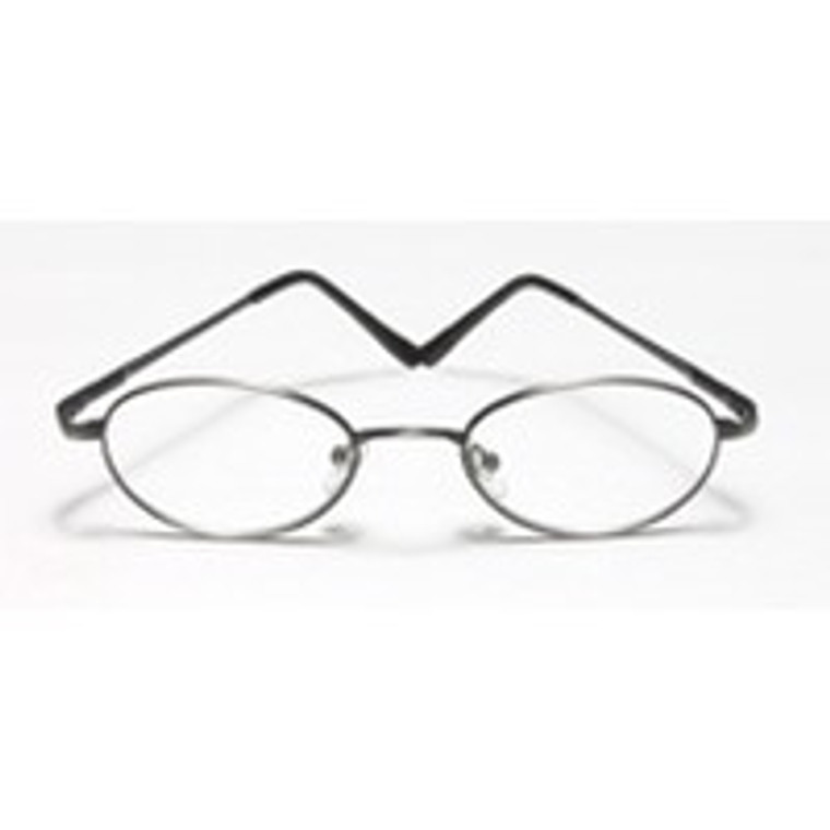 Reading Glasses 3.00 Power, Round Metal With Plastic Temple, Frame Size: Rr732 - 1 Ea