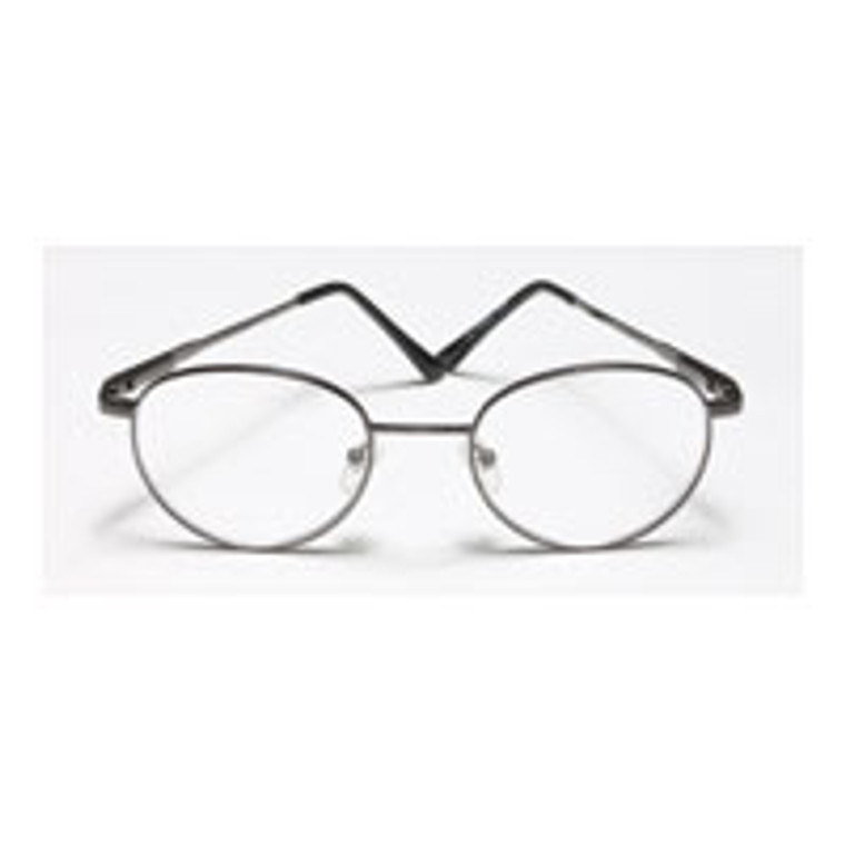 Reading Glasses 2.75 Power, Gold, Round And Metal, Frame Size: R032 - 1 Ea