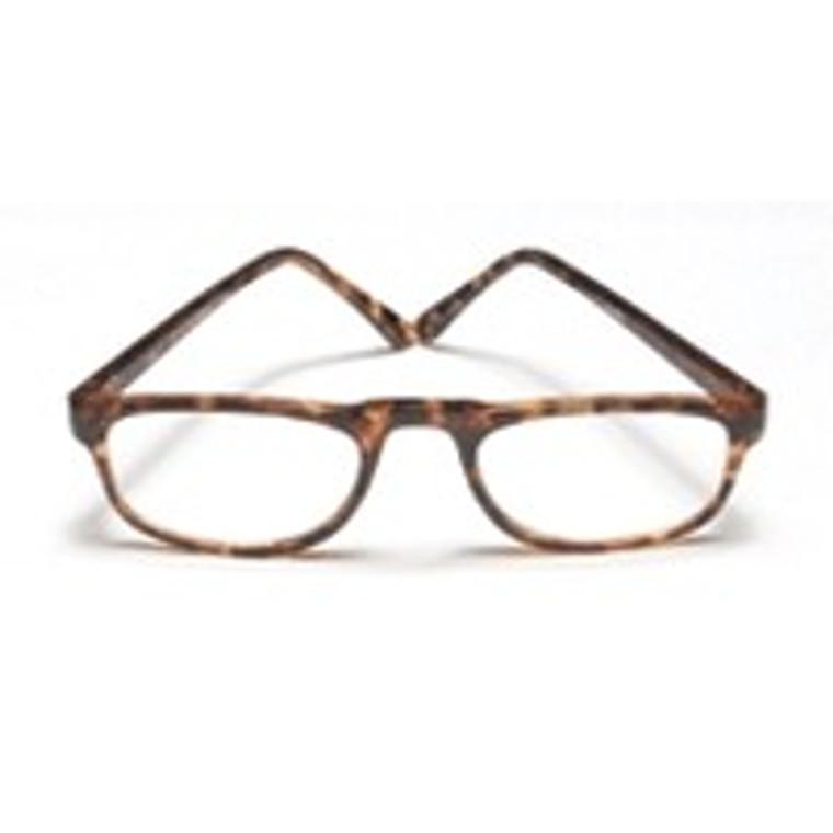 Reading Glasses 1.75 Power, 0.5 Eye Plastic Tort Wireco, Frame Size: Rr729 - 1 Ea