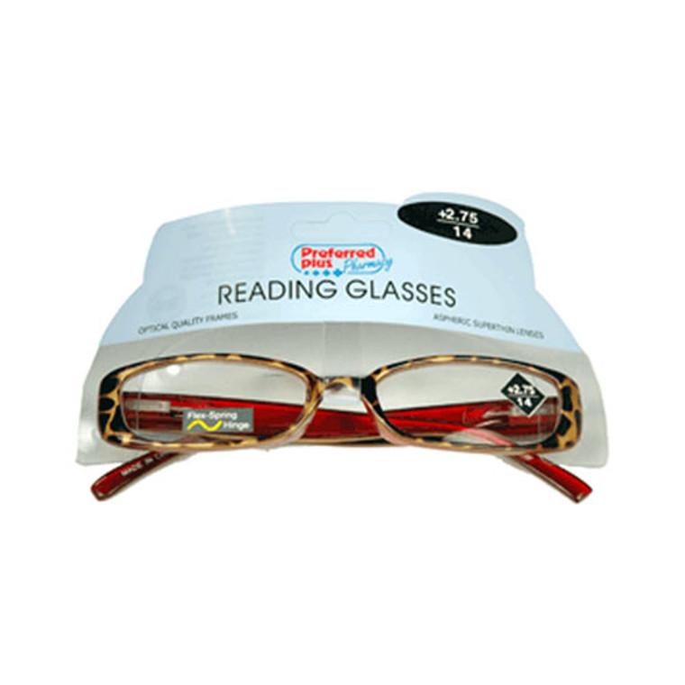Reading Glasses 2.75 Power By Kpp Frame Size: Rr974, 1 Ea