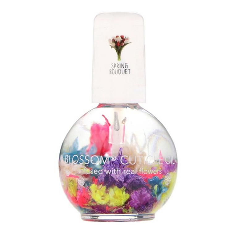 Blossom Cuticle Moisturizer Softener Oil, Spring Bouquet, 0.5 Oz