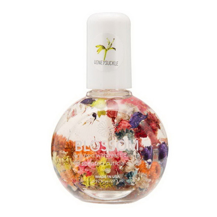 Blossom Scented Floral Cuticle Oil, Honeysuckle, 0.92 Oz