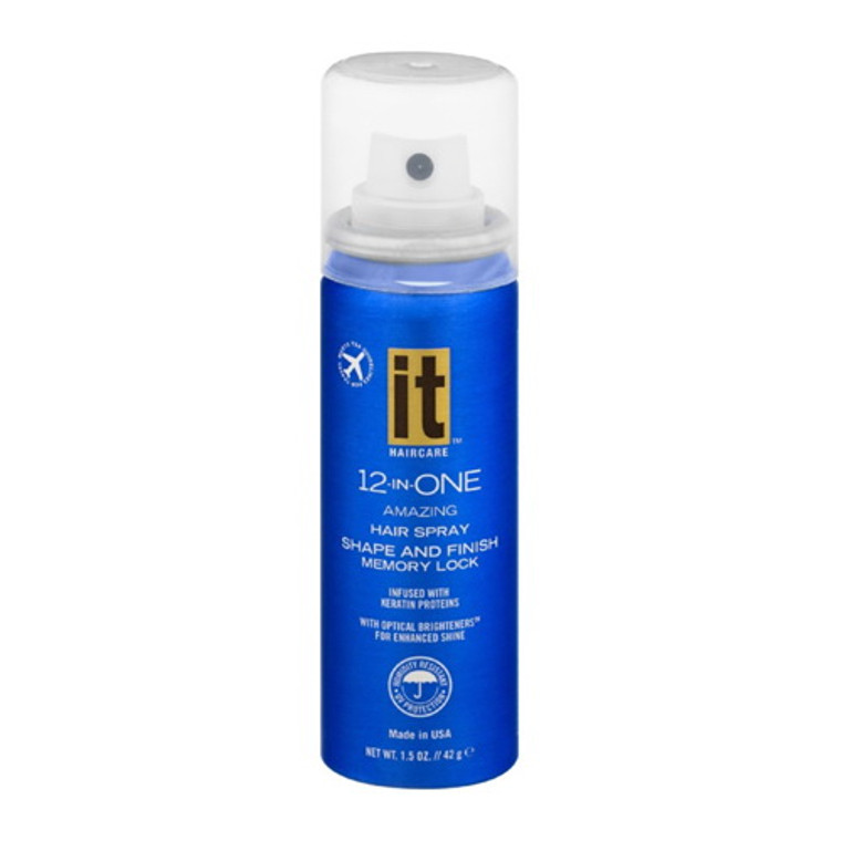 It 12-In-One Shape and Finish Hairspray, 1.5 Oz