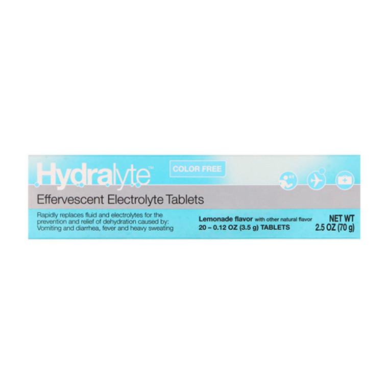 Hydralyte Effervescent Electrolyte Hydration Tablets, Lemonade, 20 Ea