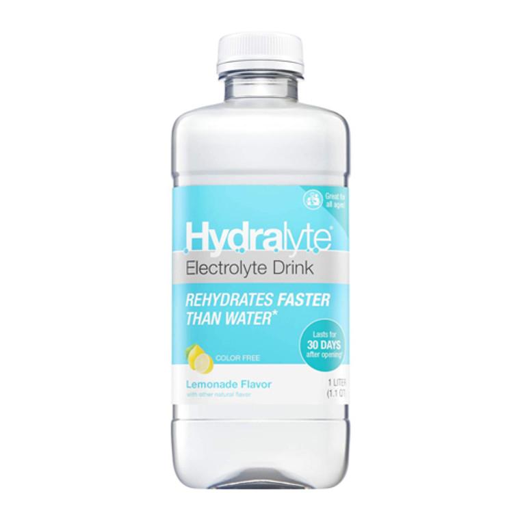 Hydralyte Electrolyte Drink Lemonade Liquid, 33.8 Oz