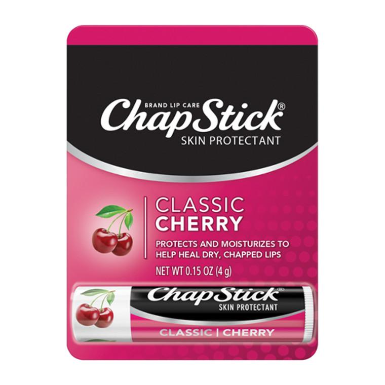 Chapstick Classic Cherry Flavor Skin Protectant Flavored Lip Balm Tube, 0.15 Oz