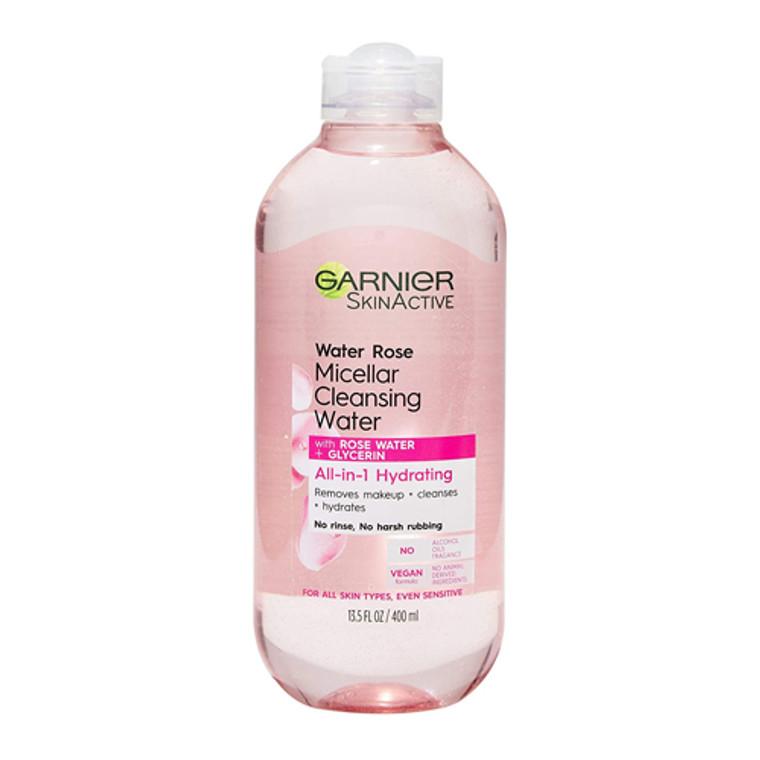 Garnier SkinActive Water Rose Micellar Cleansing Water, 13.5 Oz