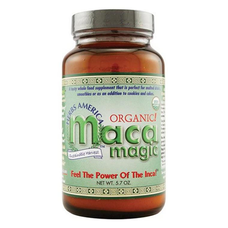 Maca Magic Sustainable Harvest Organic Maca Magic Powder, 5.7 oz