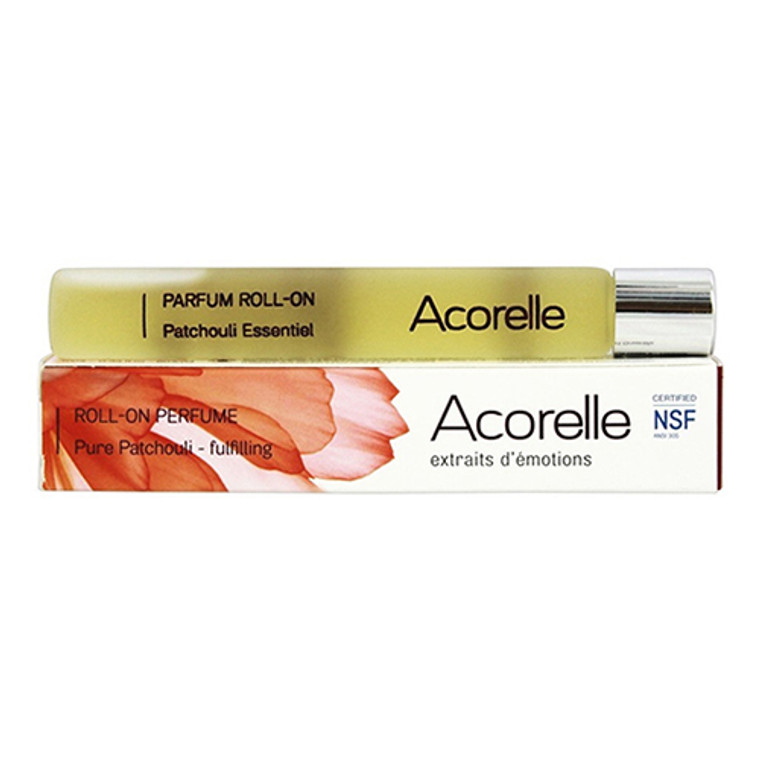 Acorelle Roll-On Perfume Fulfilling , Pure Patchouli, 0.33 Oz