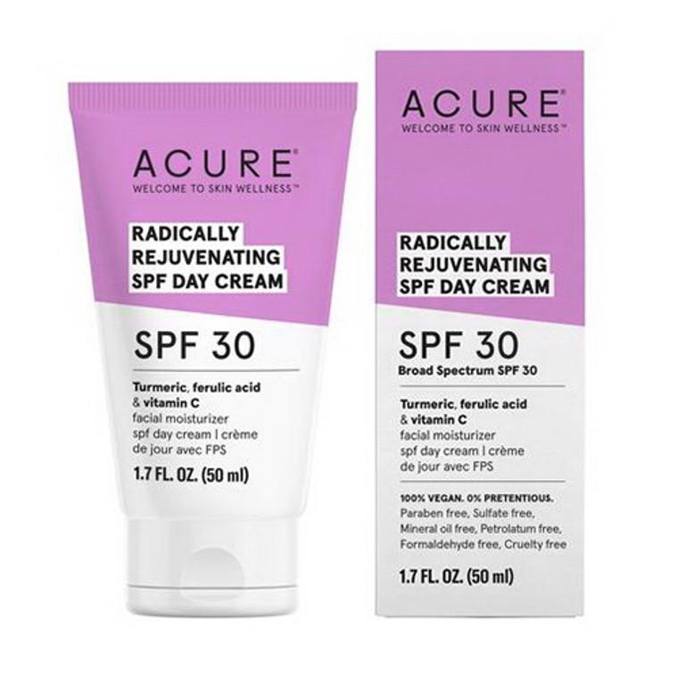 Acure Radically Rejuvenating SPF 30 Day Cream, 1.7 Oz