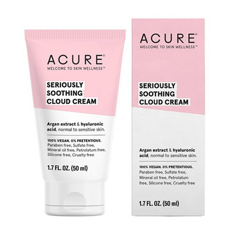 Acure Seriously Soothing Cloud Cream, 1.7 Oz