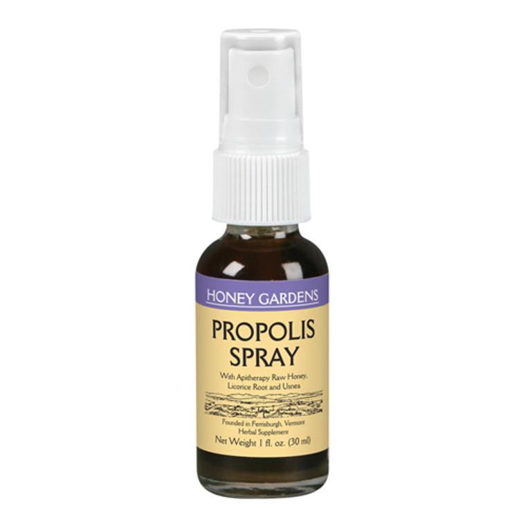 Honey Gardens Herbal Supplement Propolis Spray, 1 Oz