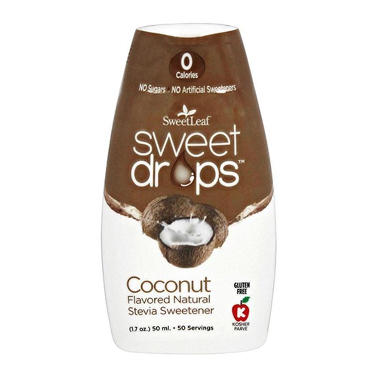 SweetLeaf Sweet Drops Natural Stevia Sweetener Coconut, 1.7 Oz