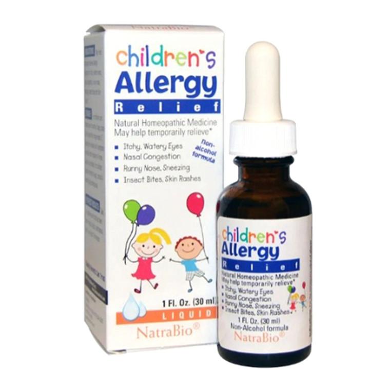 Natra Bio Childrens Allergy Relief Liquid, 1 Oz