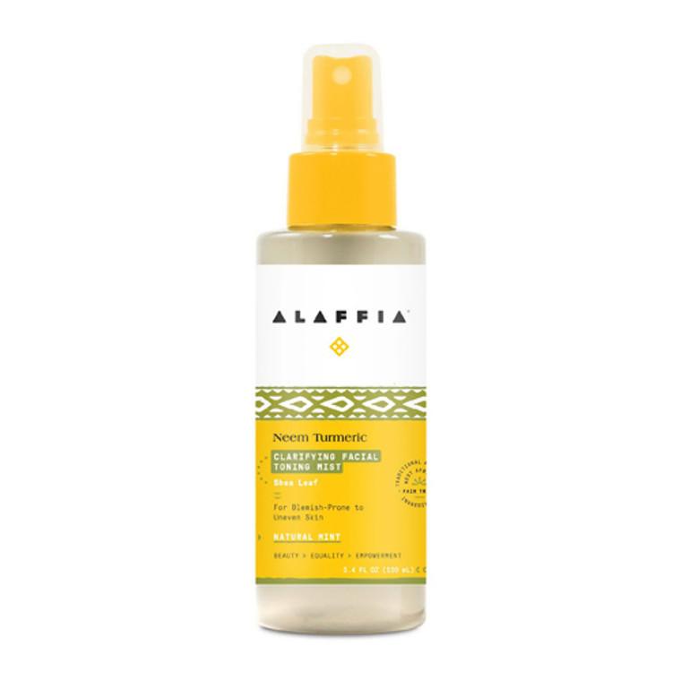 Alaffia Neen Turmeric Yarrow And Lotus Facial Mist, 3.4 Oz