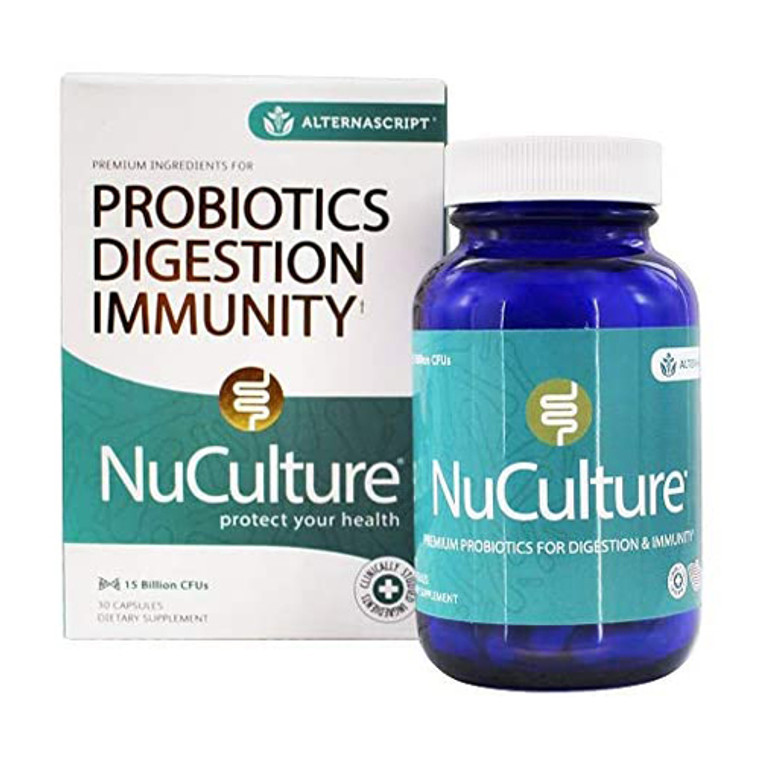 Alterna Script Nuculture Probiotics Capsules, 30 Ea