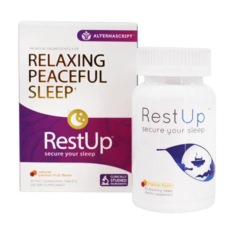 Alterna Script Rest Up Relaxing Peaceful Sleep Tablets, 30 Ea