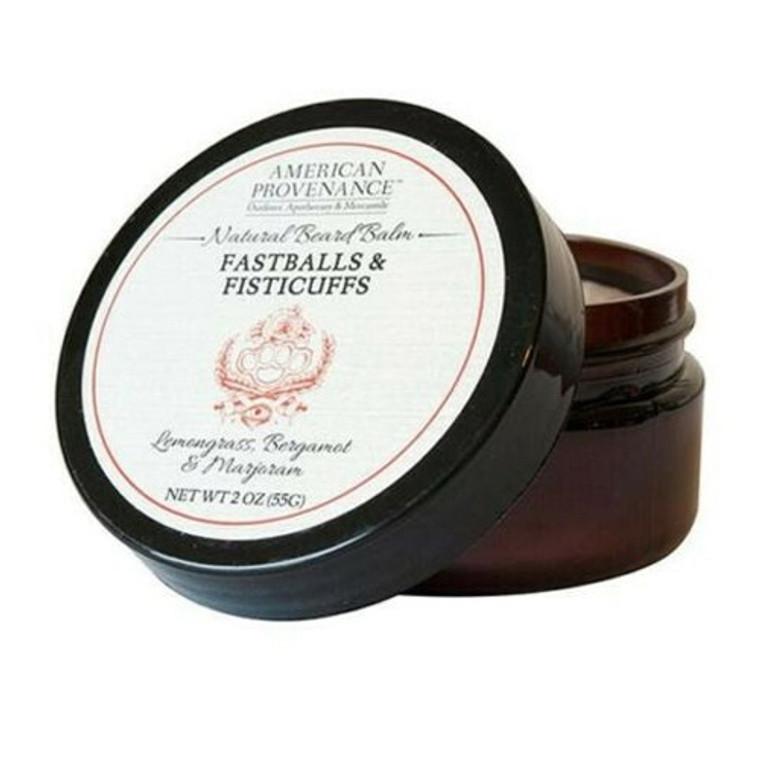 American Provenance Fastballs and Fisticuffs Beard Balm, 2 Oz