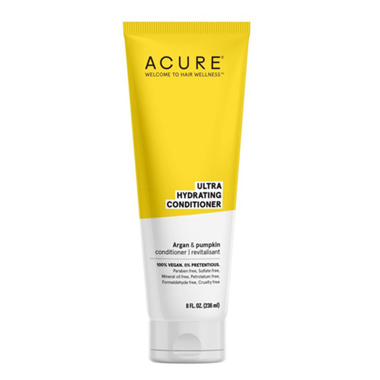 Acure Ultra Hydrating Hair Conditioner, Argan and Pumpkin, 8 Oz