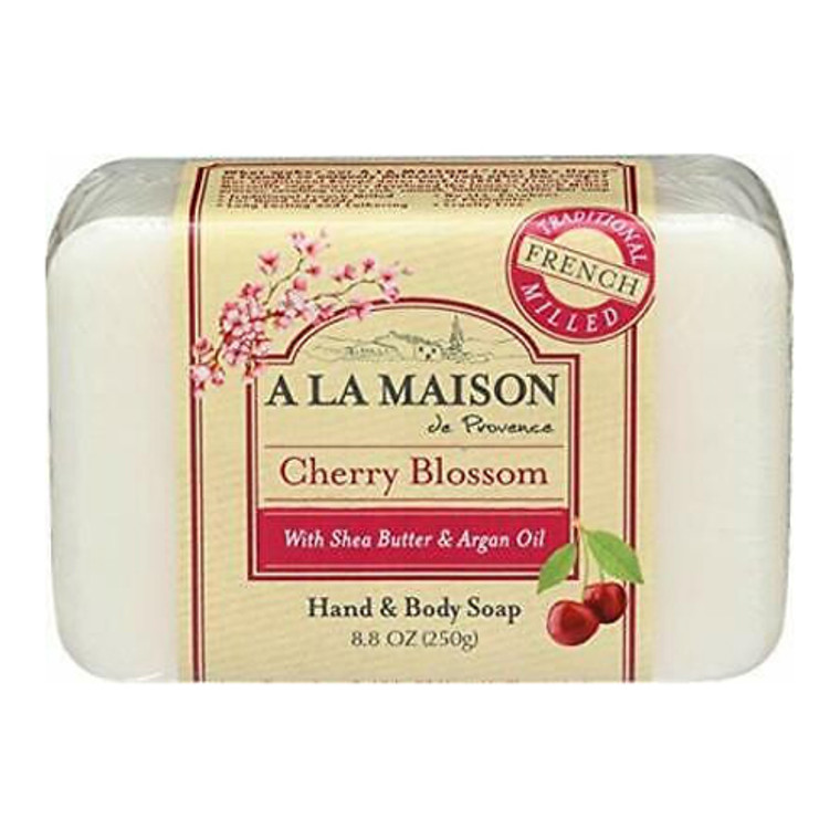 A La Maison Cherry Blossom Bar Soap, 8.8 Oz