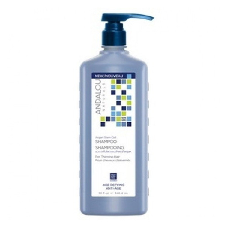 Andalou Naturals Age Defying Argan Stem Cell Hair Shampoo, 32 Oz