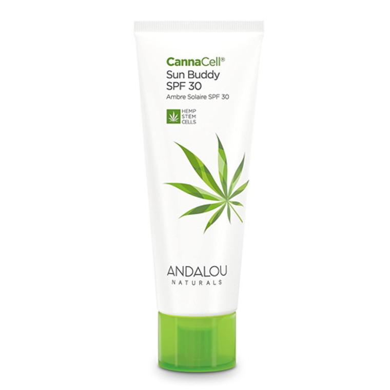 Andalou Naturals Cannacell Sun Buddy Facial SPF 30, 2.7 Oz