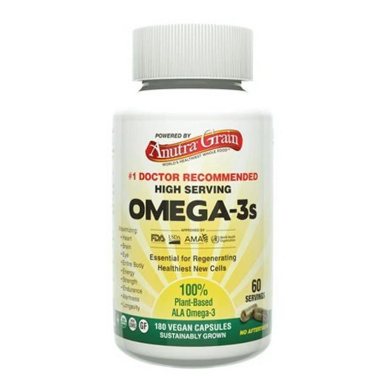 Anutra Omega-3 Vegan Capsules, 180 Ea