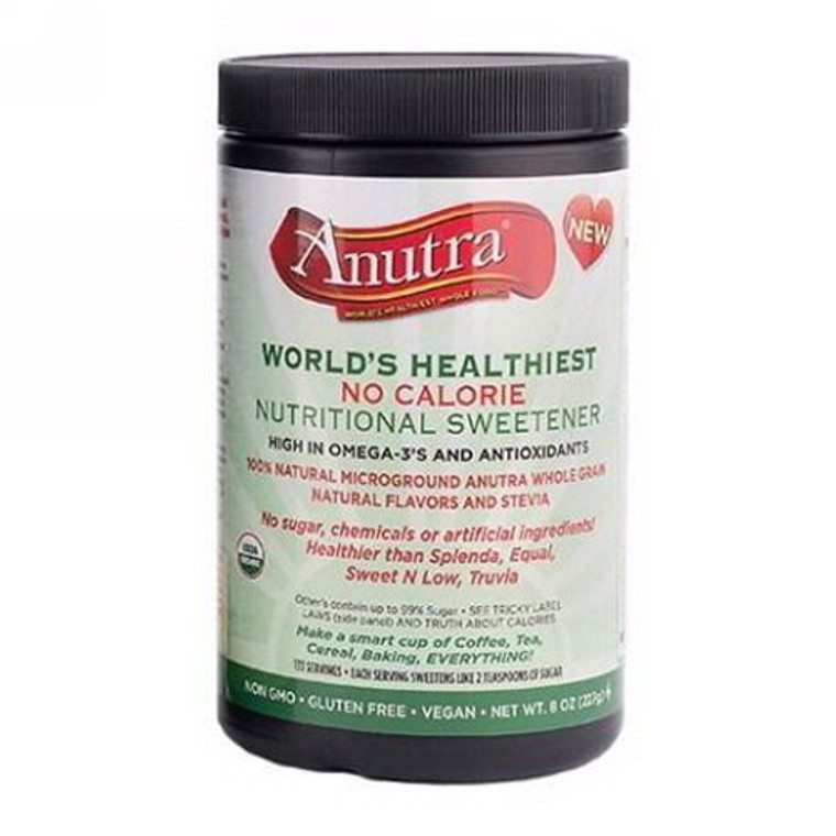 Anutra Omega-3 Nutritional Natural Sweetener, 8 Oz