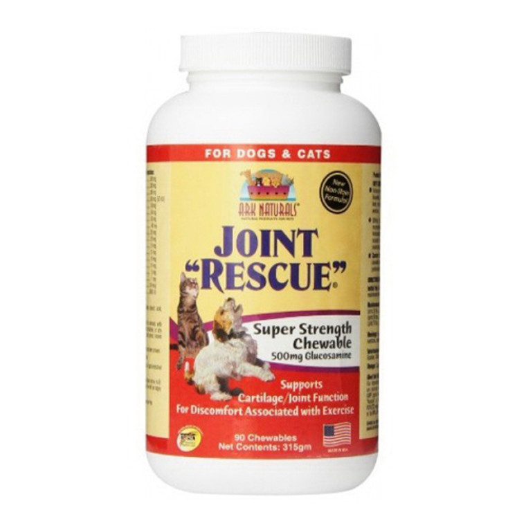 Ark Naturals Joint Rescue Super Strength Chewable Tablets Dogs and Cats, 90 Ea