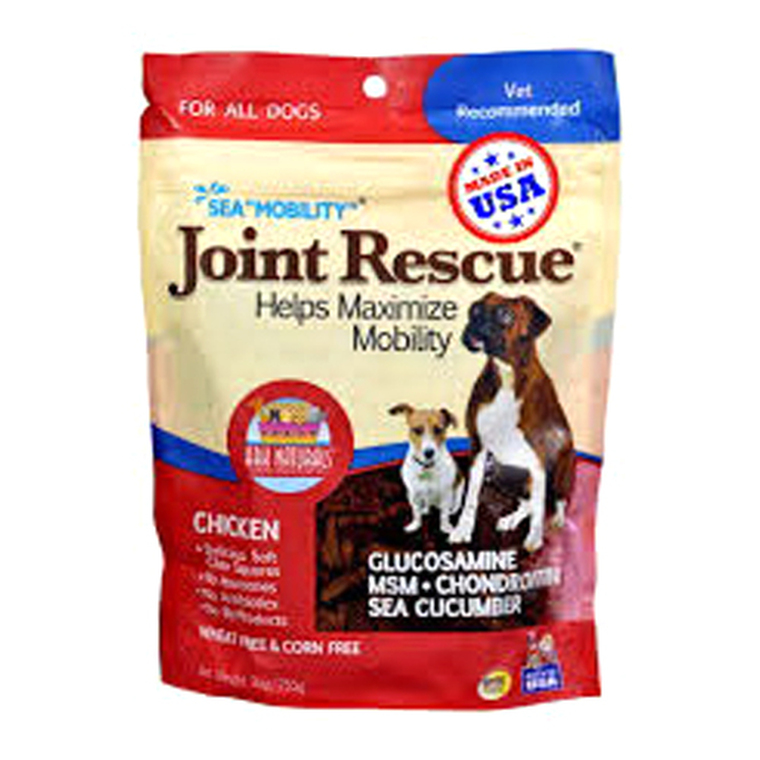Ark Naturals Sea Mobility Joint Rescue Chicken Jerky Flavor Pet Supplement, 9 Oz