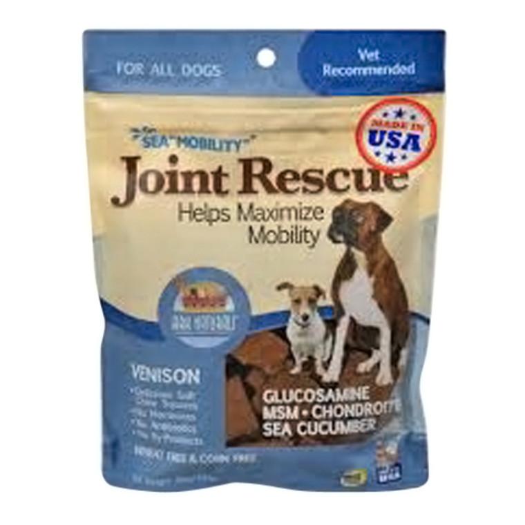 Ark Naturals Sea Mobility Joint Rescue Venison Jerky Flavor Pet Supplement, 9 Oz