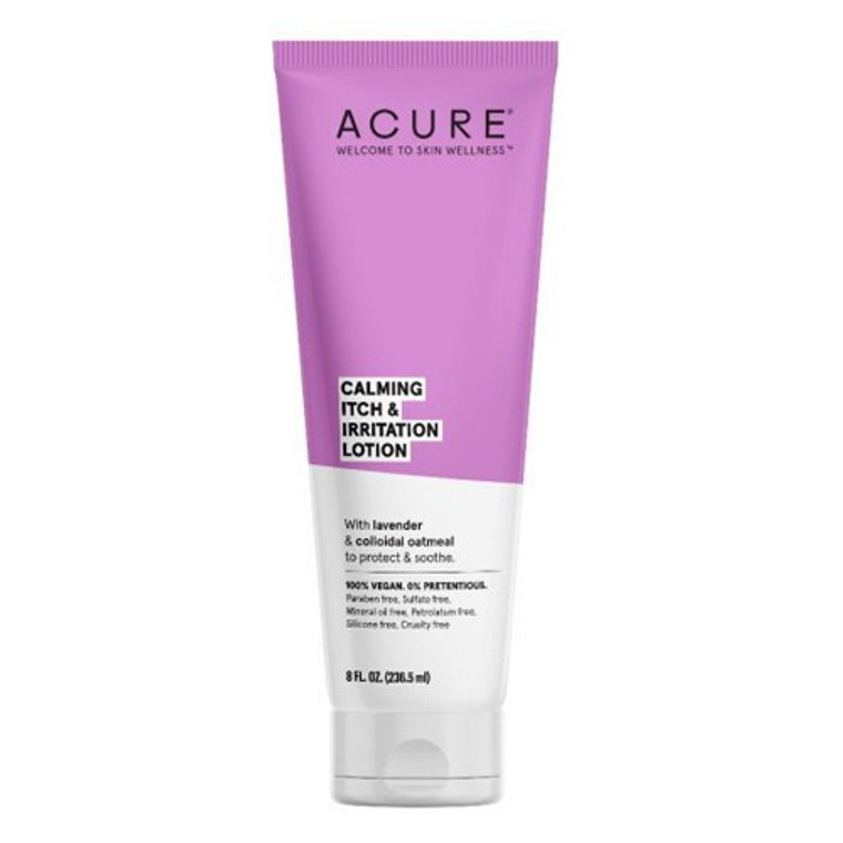 Acure Calming Itch and Irritation Lotion, 8 Oz