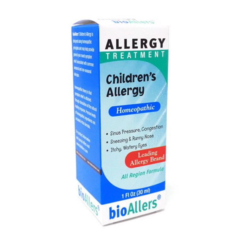 Bio Allers Childrens Homeopathic Allergy Treatment Liquid Drops, 1 Oz