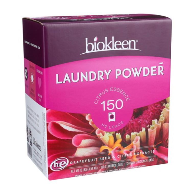 Biokleen Citrus Essence Laundry Powder, 10 lbs